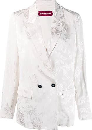Guardaroba Blazer com estampa floral - Branco