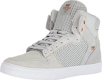 b4f7aa1568fd Supra Vaider Skate Shoe Cool Grey Copper-White 11.5 Regular US