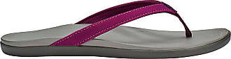 Olukai Womens HoOpio Magenta Purple/Cooler Grey 7 B US B (M)