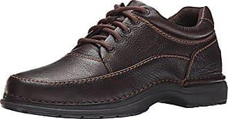 Rockport Mens World Tour Elite Encounter Walking Shoe,Dark Brown,9.5 M