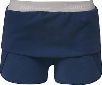 BALLETTO Shorts Moletom Elástico Azul - Mulher - P BR