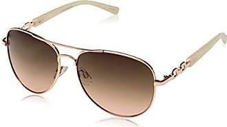 Steve Madden Womens Sm495123 Round Sunglasses, Rgn, 59 mm