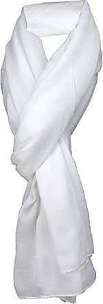 Halstuch 160 x 100 cm TigerTie Satin Chiffon Schal in braun kupfer Uni einfarbig Gr