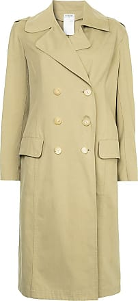Chanel minimalist midi trench coat - Neutrals