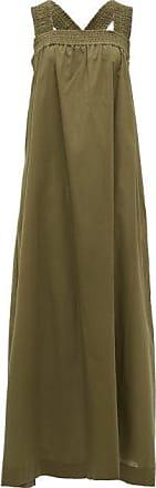 Max Mara Cappa Dress - Womens - Khaki