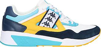 Kappa Mens Authentic 222 BARSEL 1 Track Shoe, White Blue, 10.5 UK