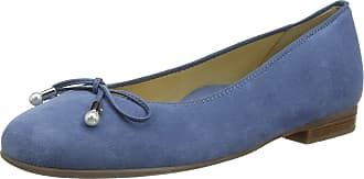 Ara Womens Sardinia 1231324 Closed Toe Ballet Flats, Sky 09, 6 UK