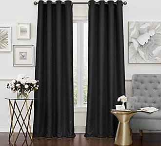 Ellery Homestyles Eclipse Luxor Thermal Layer Blackout Window Panel, 52 x 95, Black