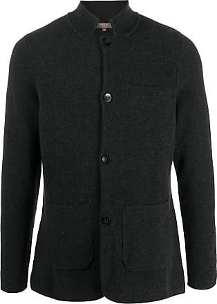 N.Peal cashmere shirt jacket - Grey