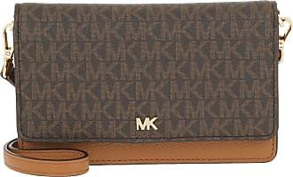 Michael Kors Phone Crossbody Bag Brown/Acorn