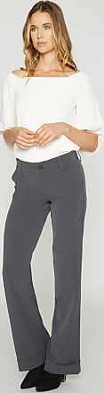 Alloy Apparel Tall Clarkson Plus Size Trousers for Women Charcoal Gray 15/35 - Rayon/Spandex