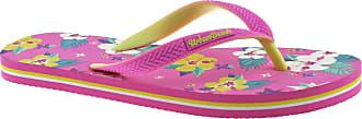 Urban Beach Girls Pool Tropic Dream FW804/5 FLIP Flops Sandals Size UK 10-2 (UK12/EU31, Pink)