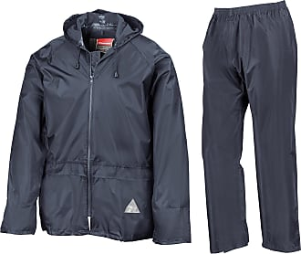 Result Waterproof Jacket/Trouser Suit in Carry Bag Navy XXL