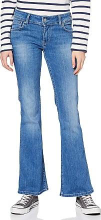 Pepe Jeans London Womens New Pimlico Flared Jeans, Blue (000Denim 000), W29/L34 (Size: 29)