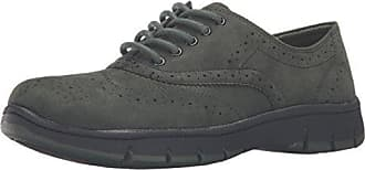 Easy Street Womens Lucky Oxford, Forest Green Super Suede, 11 W US