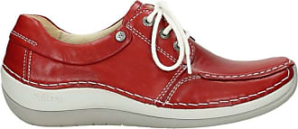 Wolky Comfort Lace up shoes Coral - 20430 cognac leather - 40