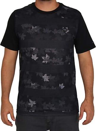 Wave Giant Camiseta Especial Wg Foliage Camo - Preta - M