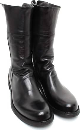 Officine Creative Womens Ankle Boots LEGRAND/125 Leather Black