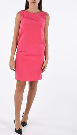 Gianluca Capannolo Silk Pencil Dress with Lace Detail size 40