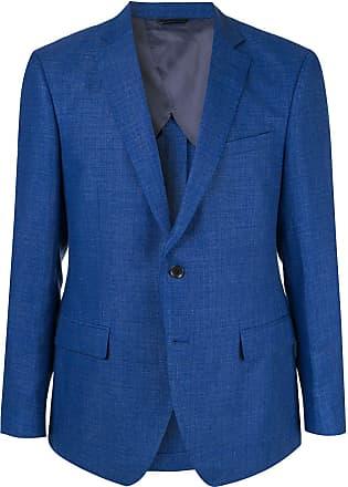 Durban weave blazer - Blue