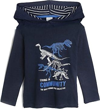 Hering Kids Camiseta Hering Kids Infantil Esqueletos Azul-Marinho