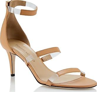 Tamara Mellon Frontline Honey Nappa Sandals, Size - 35.5