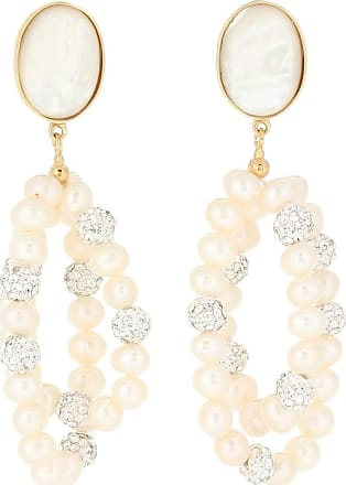 Magda Butrym Windflower embellished earrings