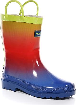 Regatta Boys Minnow Jnr Welly Wellington Boots, Multicolour Ombre 396, 5 UK (38 EU)