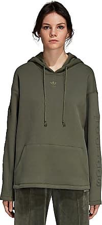 adidas Originals Hoodie - Kapuzenpullover für Damen - Grün 96b9ed4902