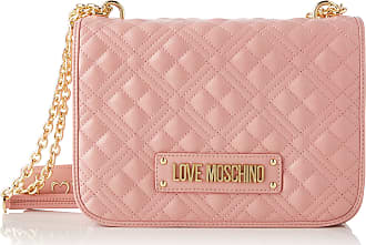 Love Moschino Jc4201pp0a Womens Cross-Body Bag, Pink (Powder), 9x19x26 Centimeters (W x H x L)