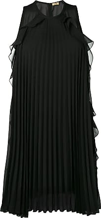 Liu Jo sleeveless pleated dress - Black
