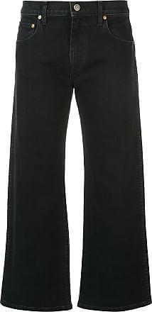 Khaite Calça jeans cropped - Preto