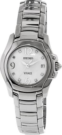 Seiko Womens SXD685 Silver Stainless-Steel Plated Japanese Quartz Fashion Watch