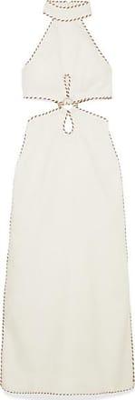 9eacfc8199 Zimmermann Cutout Rope-trimmed Linen Maxi Dress - Ivory