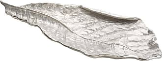 Dimond Home ELK Home Signature Leaf Tray in Silver