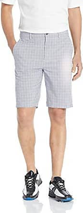 PGA TOUR Short court à carreaux pour hommes, Heather Grid Plaid Tradewinds, 44