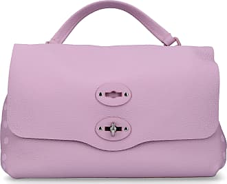 Zanellato Handbag POSTINA leather logo purple