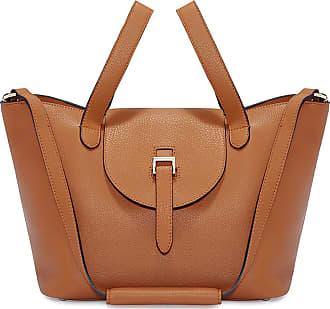 Meli Melo Meli Melo Thela Medium Tan Brown Leather Tote Bag for Women