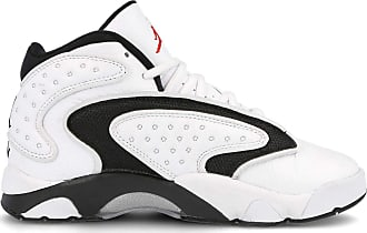 Nike Jordan 133000 Womens, Blanco/Rojo Universitario/Negro, 5 UK