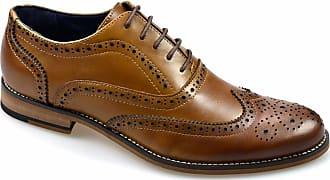 Cavani Tommy Signature Brown Shoes Sizes 7-12 RRP £69.99