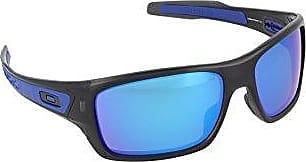 Oakley Mens Turbine OO9263-05 Iridium Rectangular Sunglasses