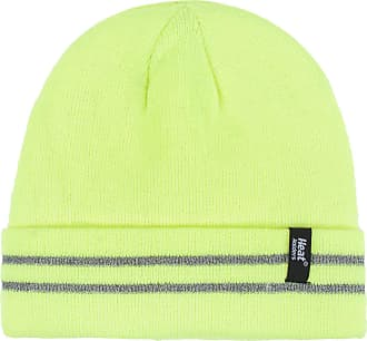 Heat Holders Men and Women Workforce Hat Pack of 1 Bright Yellow One Size