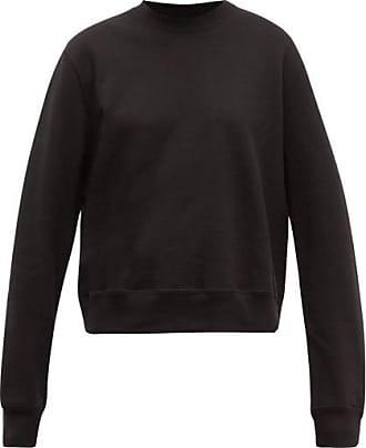 Wardrobe.NYC Wardrobe.nyc - Release 02 Round-neck Cotton-jersey Sweatshirt - Womens - Black