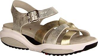 Xsensible Rhodos Multi Shining - Sporty Sandals - Womens Shoes Sandals Comfortable/Loose Insert, Multi-Colour, Leather Multicolour Size: 9 UK