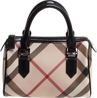 Burberry Chester Nova Check Top Handle Handbag