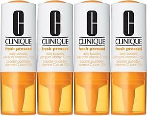 Clinique Anti-Aging Pflege Fresh Pressed Daily Booster with Pure Vitamin C 10% 4 x 8,50 ml