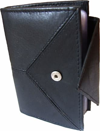 Generic Smart Stylish Leather Credit Card Holder - Holds 20 Cards Black