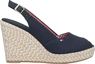 Tommy Hilfiger emblématique ELBA sling back compensé femme ciel du désert des sandales compensées