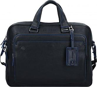 93343a516ec857 Piquadro Blue Square cartella portadocumenti con compartimenti portatile  pelle 40 cm