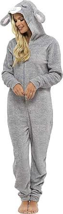 Foxbury Ladies Lamb Hooded All in One Grey 16/18